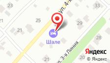 Гостиница Шале на карте