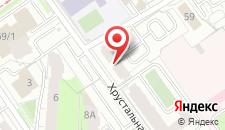 Мини-отель Малина на карте