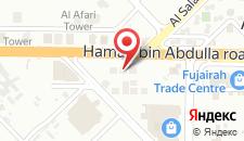 Апарт-отель Adagio Fujairah Luxury ApartHotel на карте