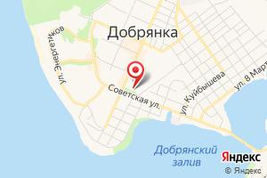 Адрес Газпром межрегионгаз Пермь, абонентский пункт в г. Добрянке на карте