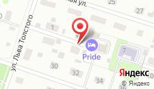 Гостевой дом Pride на карте