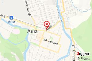 Адрес Ашинская газовая служба филиала АО Газпром газораспределение Челябинск в г. Усть-Катаве на карте
