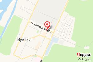 Адрес Газпром межрегионгаз Ухта, Пункт приема населения г. Вуктыл на карте