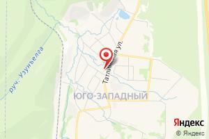 Адрес Блочная насосная станция над артезианской скважиной на карте