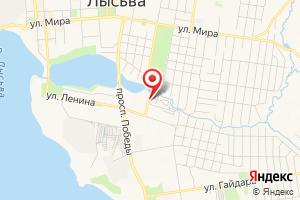 Адрес Газпром межрегионгаз Пермь, абонентский пункт в г. Лысьве на карте