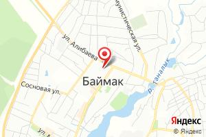 Адрес Газпром межрегионгаз Уфа управление по работе с потребителями по Сибайскому региону на карте