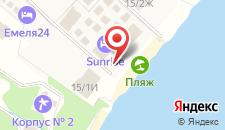 Отель Sunrise на карте