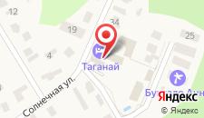 Апартаменты Таганай на карте