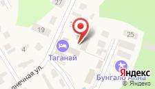 Апартаменты ХАЛЛЕ на карте