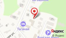 Дом отдыха Бунгало на Банном на карте