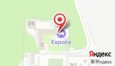 Гостиница Европа на карте