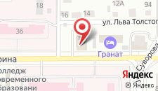 Гостиница Гранат на карте