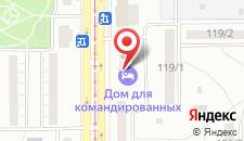 Гостиница Магнитогорск на карте