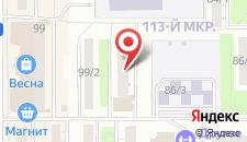 Гостиница Арена Магнитогорск на карте