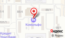 Гостиница Комильфо на карте