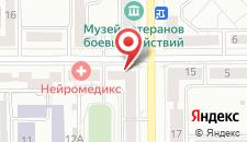 Хостел На Ленина 12 на карте