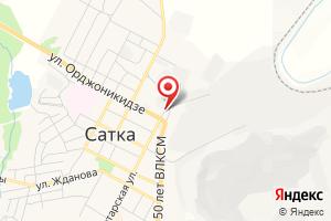 Адрес Аварийная Служба на карте