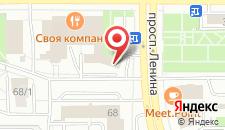 Отель Business Hotel на карте