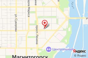 Адрес Магнитогорскгазстрой на карте