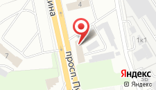 Гостиница Ланч-кафе на карте