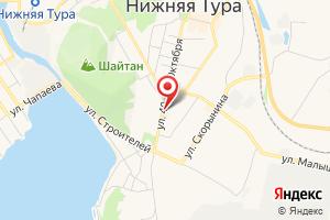 Адрес Объединенные Сети Нижнетуринского Городского Округа на карте