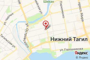 Адрес Водоканал-НТ на карте