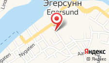 Отель Grand Hotel Egersund на карте