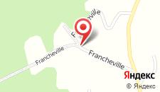 Отель Gite La Mention Franche на карте