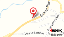 Отель Au Télégraphe на карте