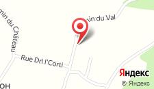 Отель Hotel Le Val D'arimont на карте