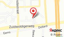Отель Hotel Hoogeveen на карте