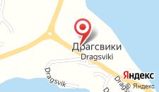 Отель Dragsvik Fjordhotel на карте