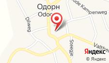 Отель De Oringer Marke на карте