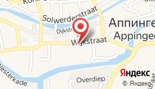 Отель Het Wapen van Leiden на карте