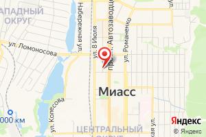 Адрес Инженер-Инвест на карте