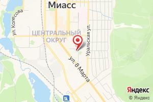 Адрес ГазКом на карте