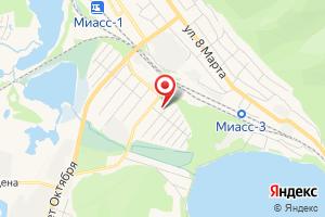 Адрес АстанГаз на карте