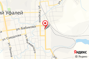 Адрес Уфалейская газовая служба, Филиал Газпром газораспределение Челябинск в г. Кыштыме на карте