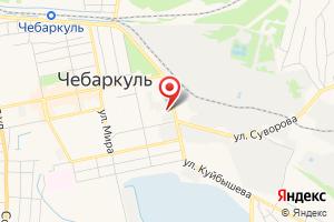 Адрес Чебаркульгорводоканал на карте