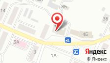 Гостиница Сибирь на Удельной на карте