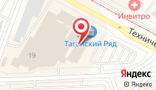 Гостиница Таганская на карте