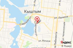 Адрес Челябэнергосбыт, отдел по работе с населением на карте