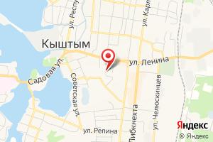 Адрес МРСК Урала Челябэнерго на карте
