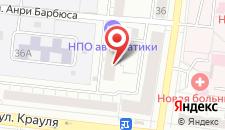 Гостиница НПО автоматики на карте