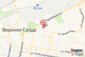 Адрес Комплексно-эксплуатационная служба г. Верхняя Салда на карте