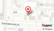 Отель Лайт на Ключевской на карте