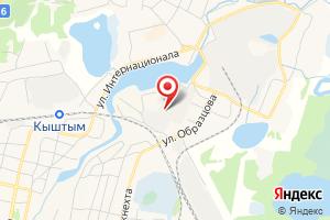 Адрес Электрическая подстанция Кыштым на карте