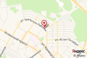 Адрес Верхнепышминский участок по эксплуатации газового хозяйства на карте