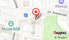 Отель УралОтель на карте