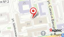 Отель Эмеральд на карте